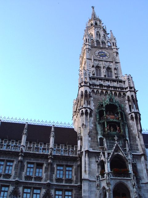 The New Town Hall, Marienplatz
