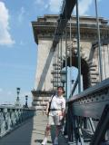 Chain Bridge Connecting Buda and Pest