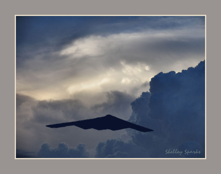 B2 Stealth Bomber Cannon AFB Air Show