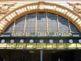 part of Flinderstreet Station