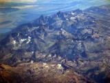 Grand teton range in Wyoming.