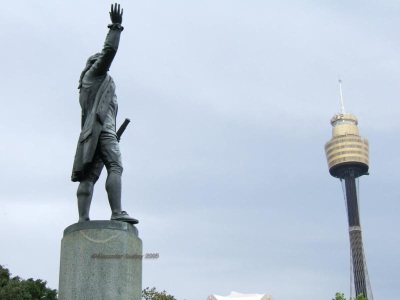 Captain Cooks telescope.
