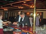 Gareth buying his dad a drink!!!!