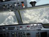 Clouds from the cockpit