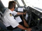 This is the captain from the flightdeck... can I have your attention...