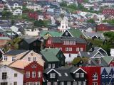 In Torshavn harbour area