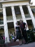 Summer's Camera - Lars & Summer in front of Disney's Haunted Masion