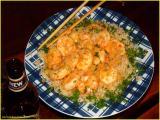 bombay rice  -  prawns