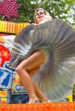 Marilyn statue at Shaker ride