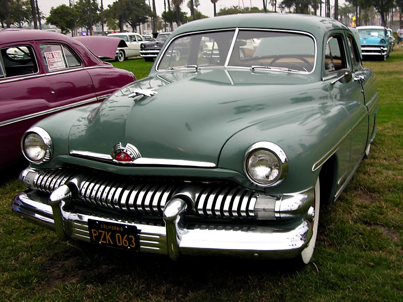 1951 Mercury Four-Door Sports Sedan - Click on photo for more info