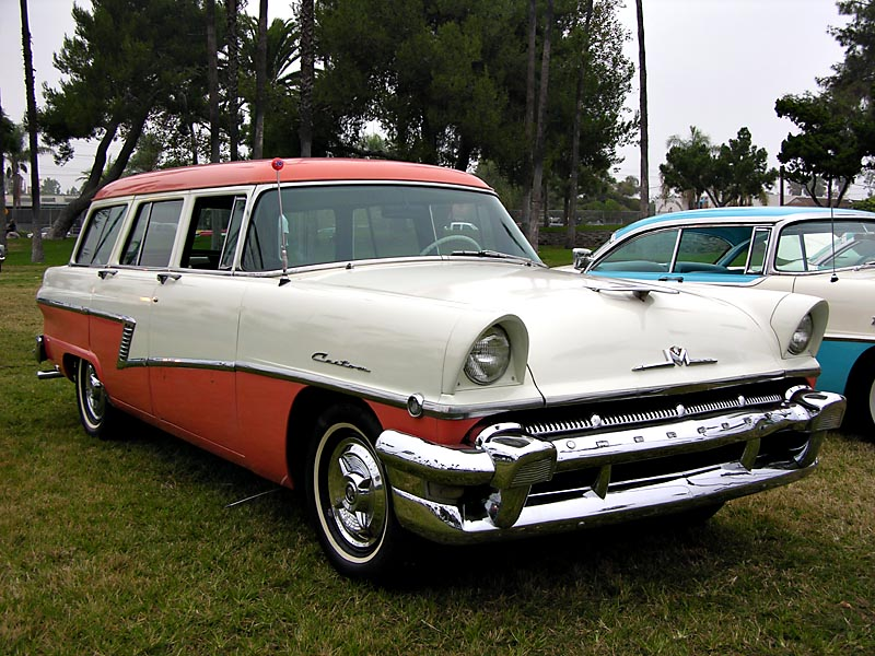 1956 Mercury Custom Series four-door, six passenger Station Wagon - Click on photo for more info