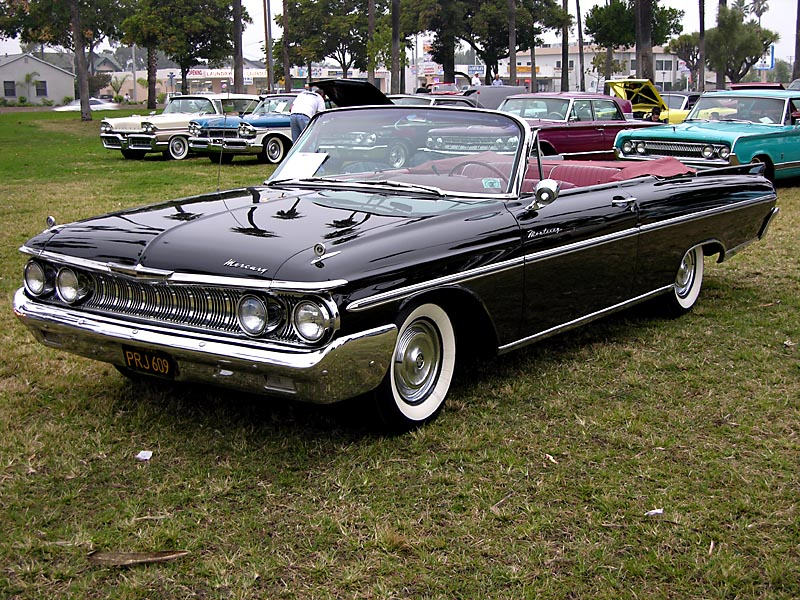 1961 Mercury Monterey Convertible Coupe - Click on photo for more info