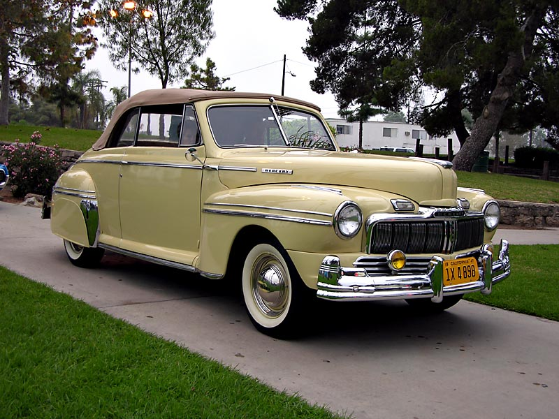 1947 Mercury Cabriolet Convertible - Click on photo for more