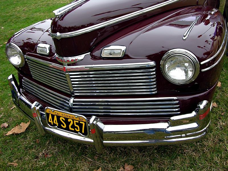 rare 1942 Mercury woodie