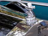 1939 Rolls Royce Wraith - Goddess of Extacy hood ornament