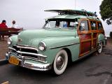 1950 Plymouth Special Deluxe 4 door wagon - Click on photo for more info