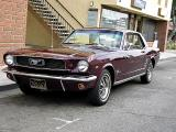 1966 Ford Mustang with 289 cubic inch V-8 - Click on photo for more info