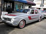 1964 Plymouth Valiant V-200 Station Wagon with customized grille and paint