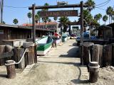 Dory Fleet, Newport pier