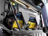 Side mounted V16, 64 valve engine