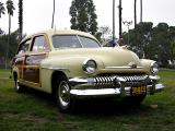1951 Mecury two-door, eight-passenger station wagon - Click on photo for more info