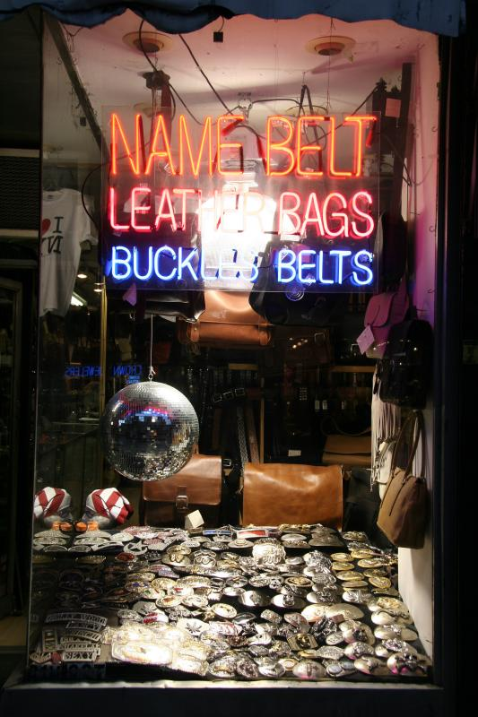 Bags, Buckles and Belts