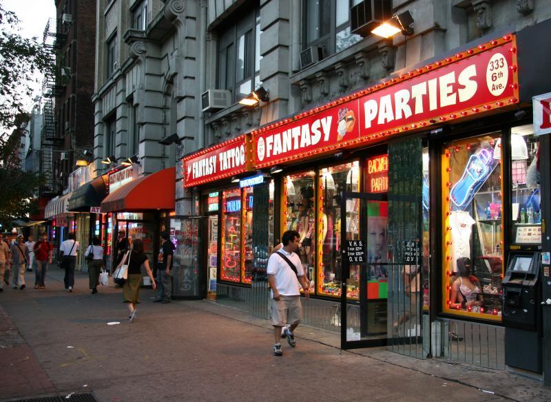 Fantasy - Street Scene