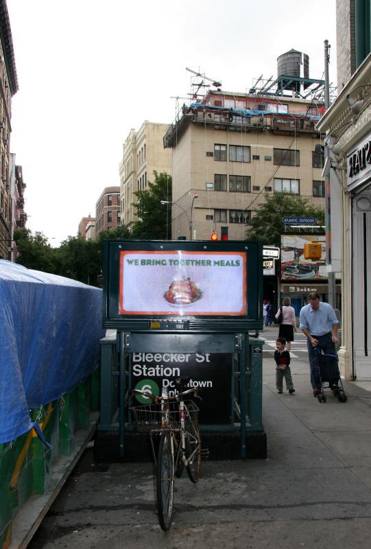 Subway Stop at Bleecker & Lafayette