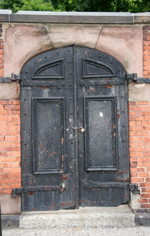 Door to St Patricks Graveyard