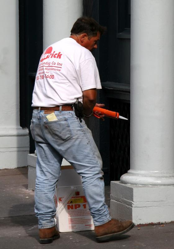Cast Iron Building Worker