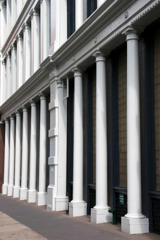 Cast Iron Building Columns