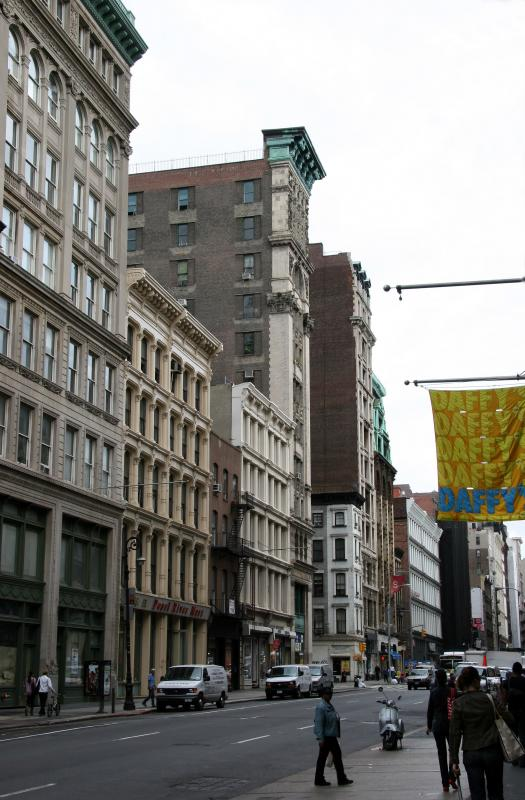 North View of Broadway at Grand Street