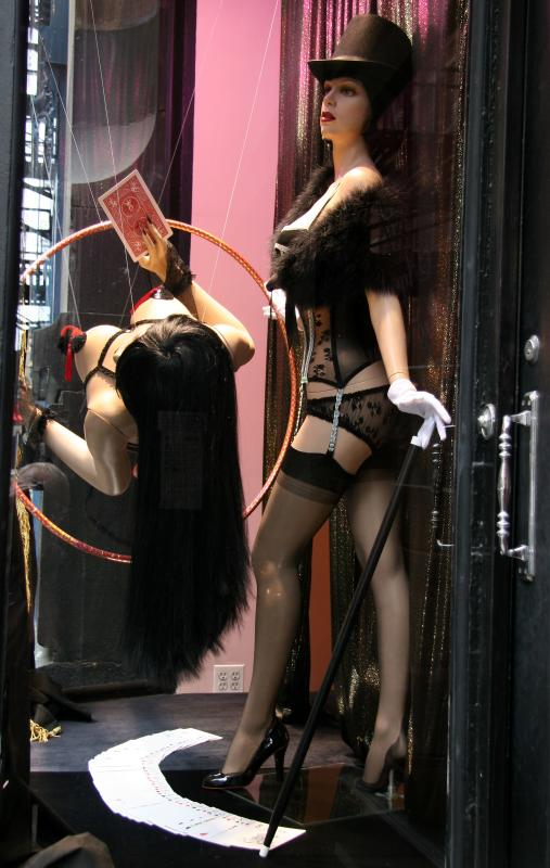Agent Provacateur Window below Spring Street