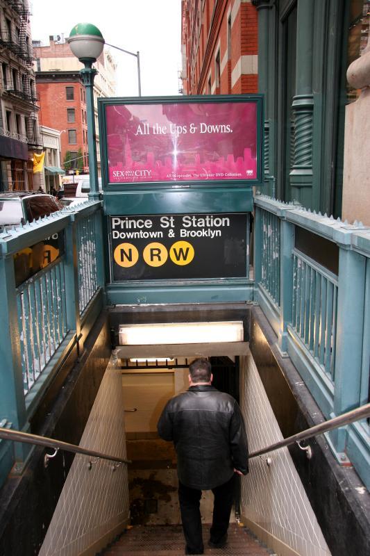 Prince Street Subway Station