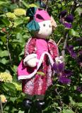 Cloth Doll in LaGuardia Place Community Garden