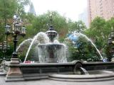 Fountain at City Hall Park
