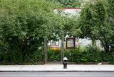 Entrance to LaGuardia Place Corner Community Garden