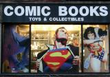 Comic Books - Store Window