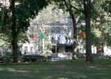Washington Square West near Waverly Place