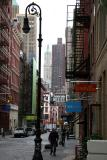 Mercer Street - Downtown View from Broome Street