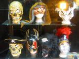 Halloween Masks at Thrifty Drugstore