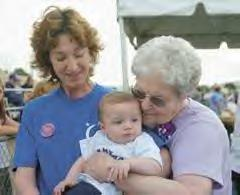 2005 Relay for Life- Susie, Mom and Brett