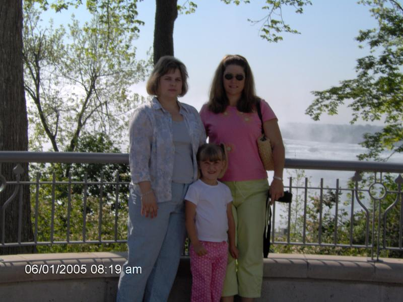 Patricia with her sister,Kristina and niece  Patricia,