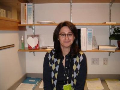 Palma Dileo, Research Fellow visiting from Italy
