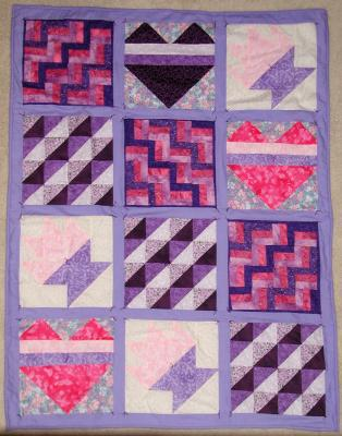 GCRF Walk-Now Yvonnes Quilt- made by Gail and Friends
