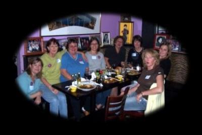 Dinner before the 2005 Walk
