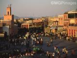 Place Djemaa El Fnaa , Marrakech, Morocco