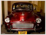 Morris Moti's car