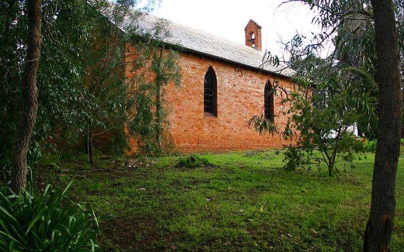 Aug 13. First church site in WA