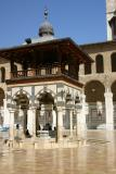 Courtyard of Ommayad Mosque